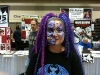 New friend Annie Hall (no, seriously!), who does incredible face painting!