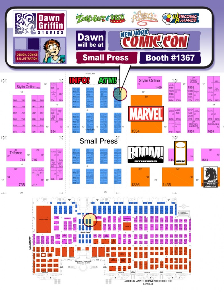ConventionFloorplan
